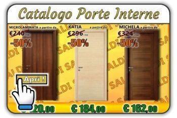 Porte Interne in Laminato e Massello Varese. Prezzi online